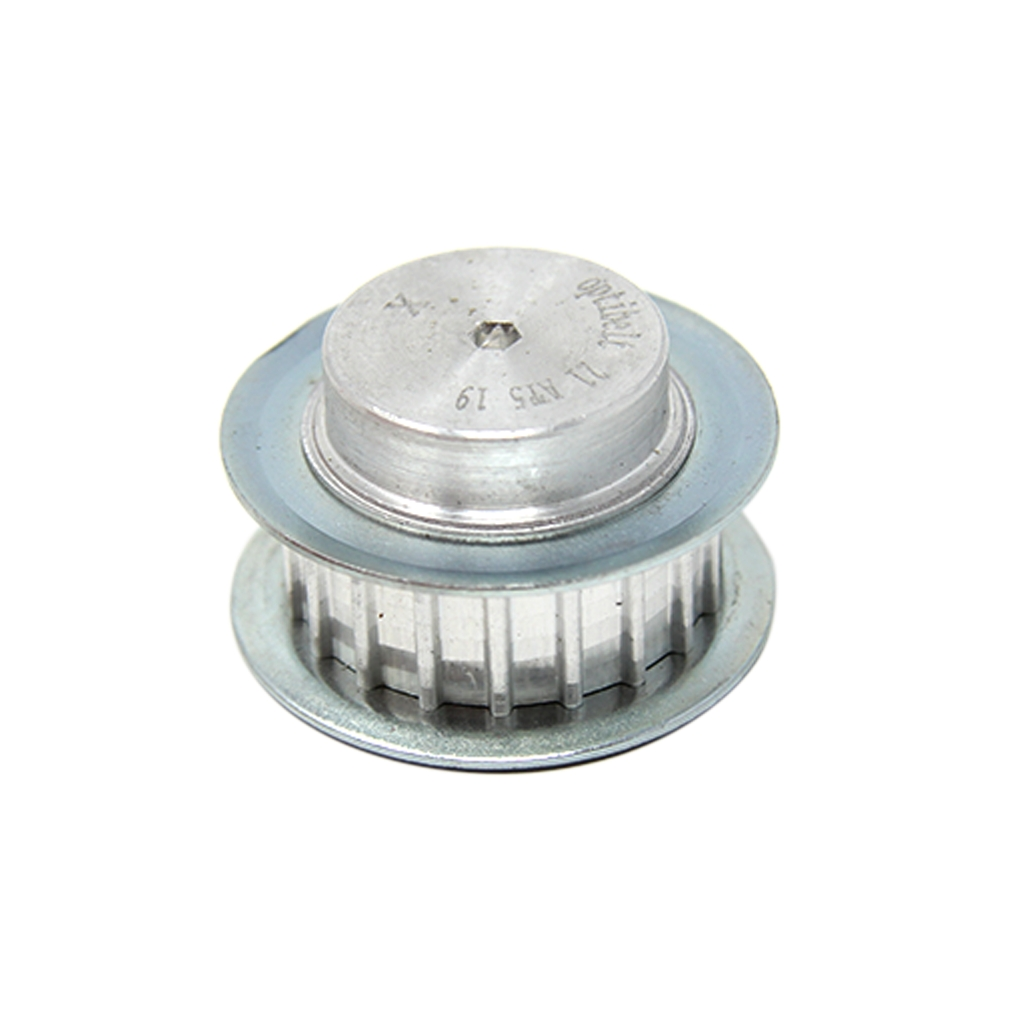 36-T5-18-200ZA-Belt-pulley-Profile-T5-Width25mm-Mat-aluminium-V-metric-OPTIBELT