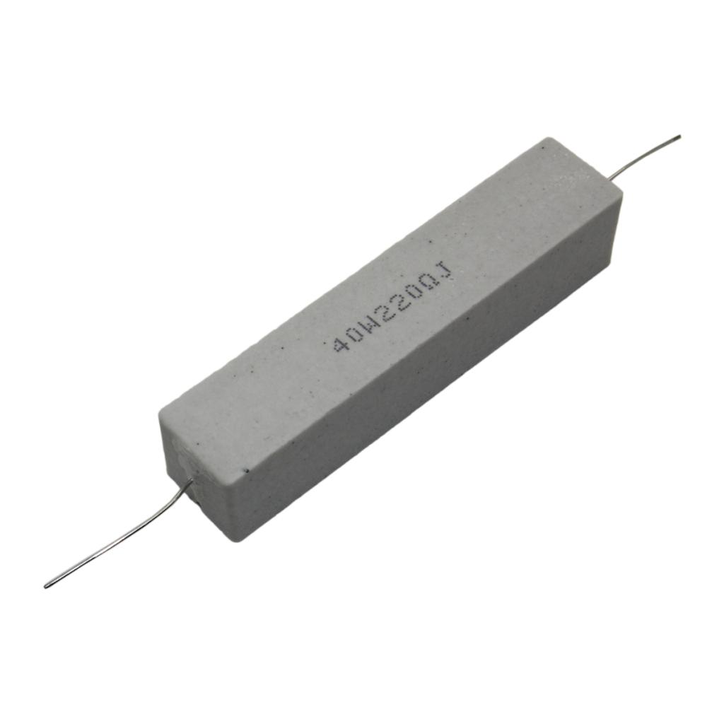 CRL40W-0R33 Resistor wire-wound ceramic case THT 330mΩ 40W ±5% SR ...