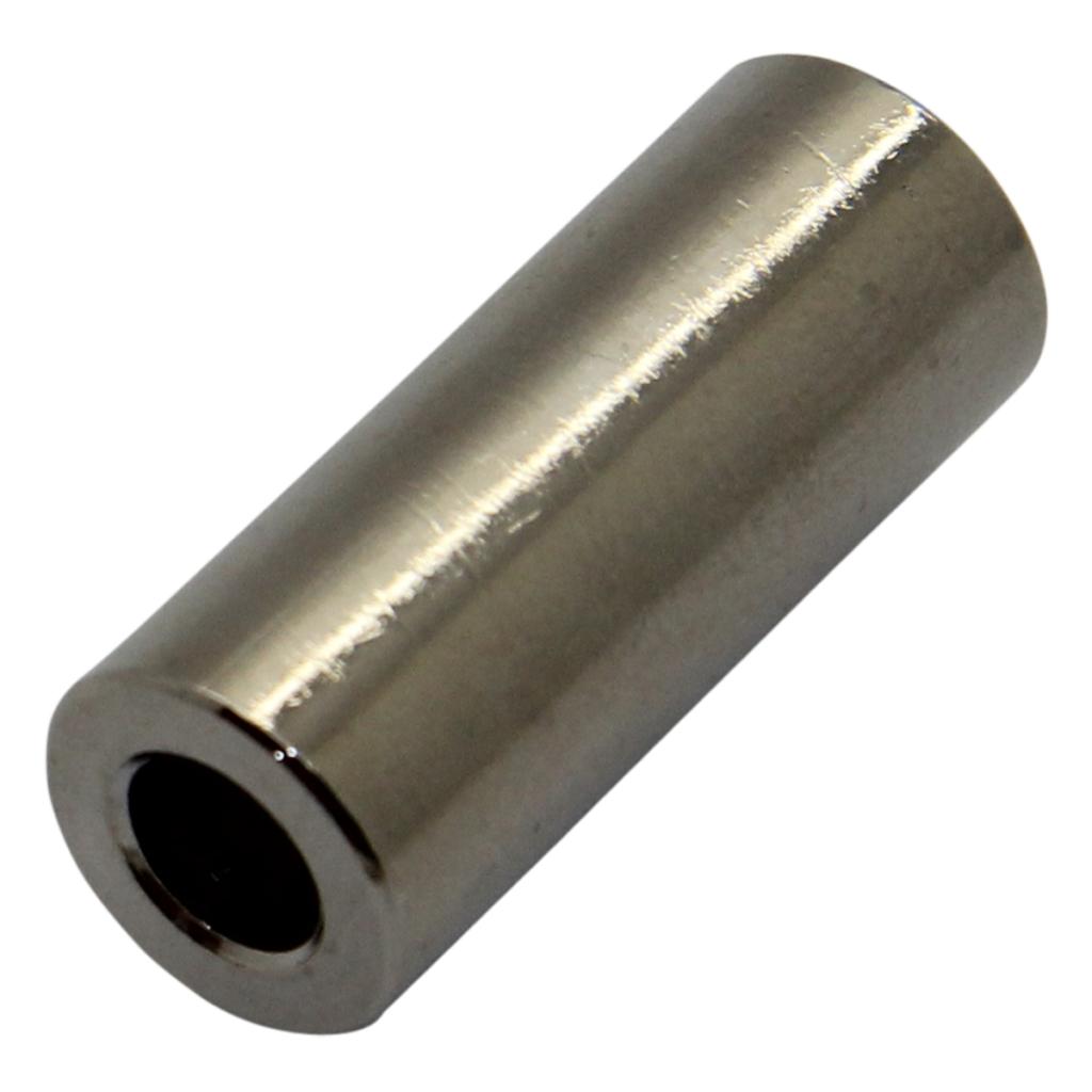 10x Dr318/4.3x9 Entretoise 9 Mm Cylindrique En Laiton Nickel Out. Diam 8 Mm Dremec-afficher Le Titre D'origine