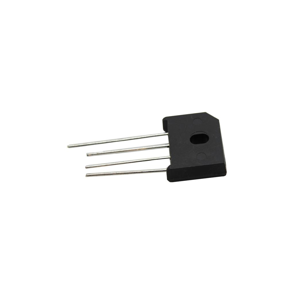 2x GBU4J-DIO Bridge rectifier flat 600V 4A GBU4J DIOTEC SEMICONDUCTOR