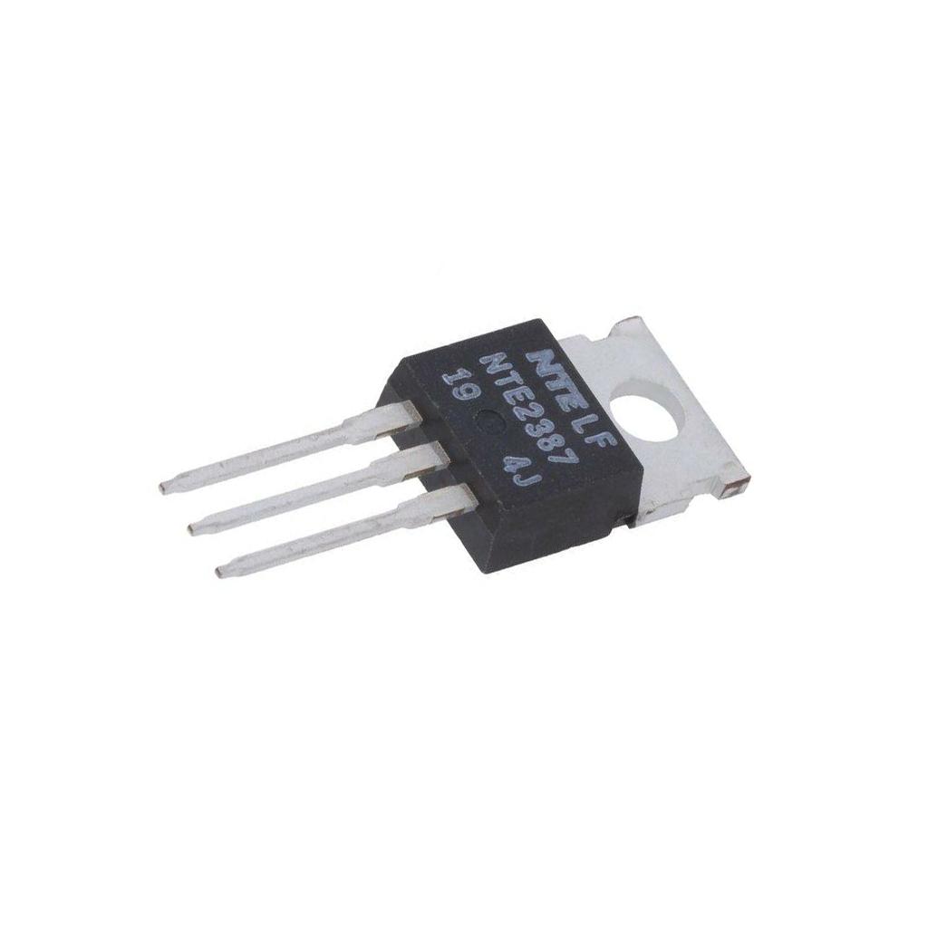 16A 125W TO220 NTE Electron NTE2387 Transistor N-MOSFET unipolar 800V 2.6A Idm