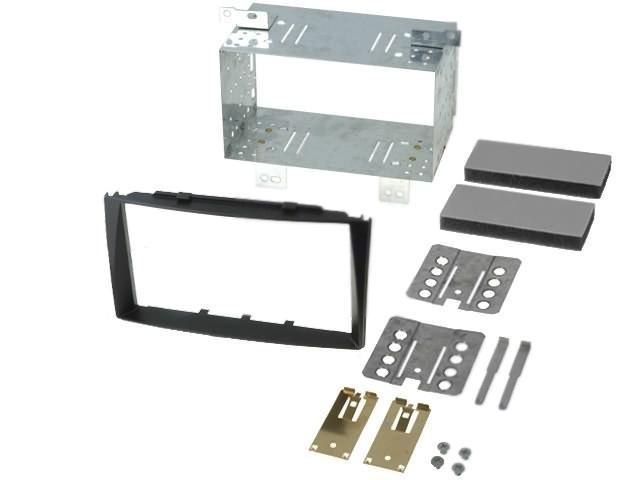 RAM-40-210-2-Radio-mounting-frame-2-DIN-Kia-black-MA39017-T-KIT