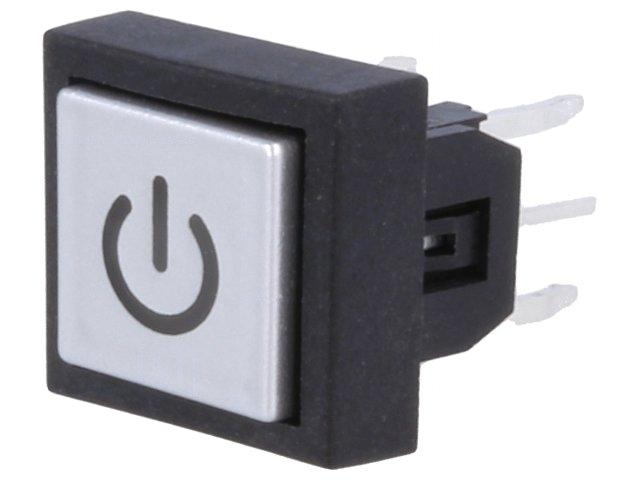 ML6-H1S12BVA-Microswitch-1-position-SPST-NO-0-05A-12VDC-THT-LED-blue-DIPTRONICS
