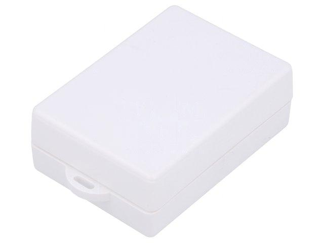 KM-96-WH-Enclosure-multipurpose-X50mm-Y69mm-Z25mm-with-fixing-lugs