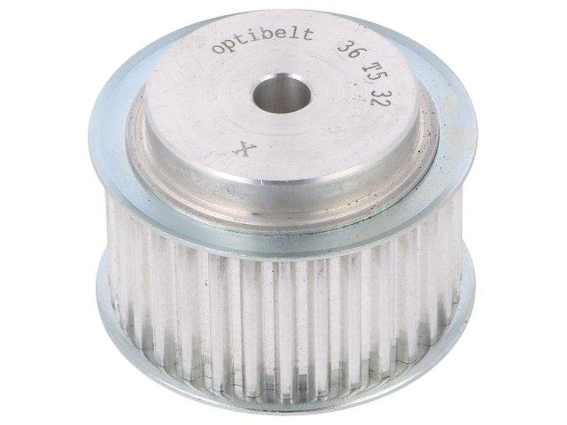 36-T5-32-200ZA-Belt-pulley-T5-W-25mm-whell-width-36mm-50-1mm-OPTIBELT