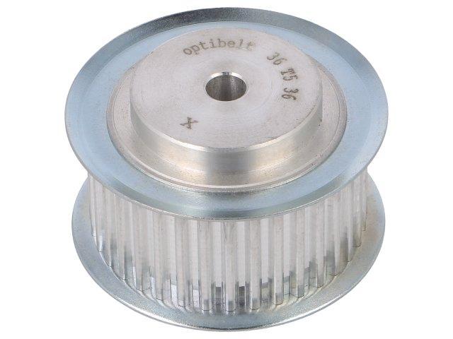36-T5-36-200ZA-Belt-pulley-T5-W-25mm-whell-width-36mm-56-45mm-OPTIBELT