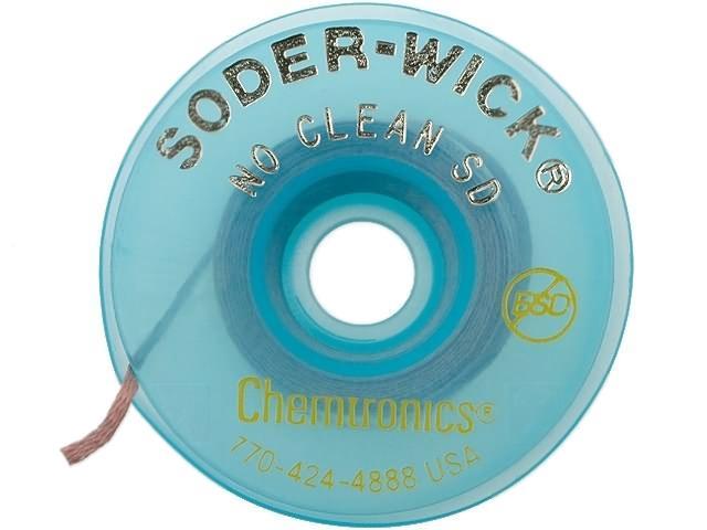 à Condition De Ch-sw60-2-5 Tresse Déssoudée No Clean W1.5mm L1.5m Sw60-2-5 Chemtronics-afficher Le Titre D'origine