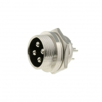 MIC334 Socket microphone male PIN4 for panel