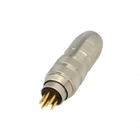 0332-06 Connector M16 plug male