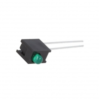 4x HLMP-1503-C00A1 LED in housing