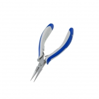 IDL-6024 Pliers half-rounded nose, elongated