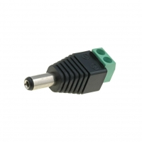 PC-2.1-TB Plug DC mains female