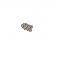 1x 3302-10 Cable ribbon 1.27mm