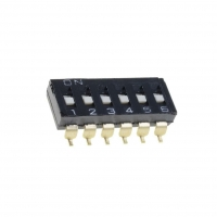 A6S-6101-H Switch DIP-SWITCH Poles