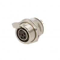 AG5FCE Socket XLR mini female PIN5