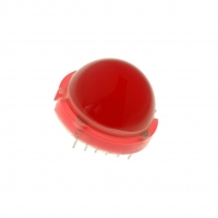 DLC-6ID LED 20mm red 4-13mcd 120°