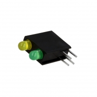 4x L-7104GE/1LY1LGD Diode LED in