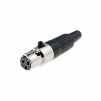 MXLR-3G Plug XLR mini female PIN3