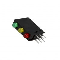 2x L-934SA/1G1Y1ID Diode LED in