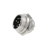 MIC337 Socket microphone male PIN7 for panel