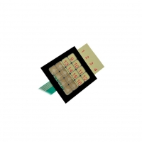 QW-02 Keypad membrane Number of