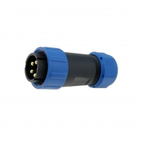 SP2110/P5 Plug Connector circular