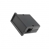 ABS-61PC-BK Enclosure panel X72mm