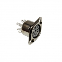 630-0500 Socket DIN female PIN5