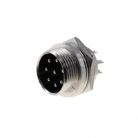 MIC338 Socket microphone male PIN8 for panel