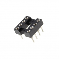 10x GOLD-8P Socket DIP PIN8 7.62mm