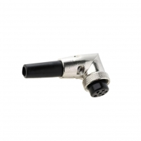 MIC366 Plug microphone female PIN6 with bend