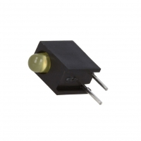 4x HLMP-1719-A00A2 LED in housing