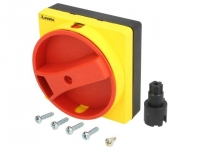 GAX61 Knob Colour red/yellow