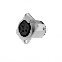 AC3FDZ Socket XLR female PIN3