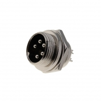 MIC335 Socket microphone male PIN5 for panel