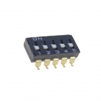 A6S-5101-H Switch DIP-SWITCH Poles