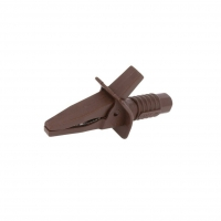 FCR7944 Crocodile clip 10A brown