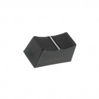 CS1/4-BLK Knob slider Colour black