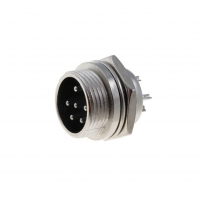 MIC336 Socket microphone male PIN6 for panel