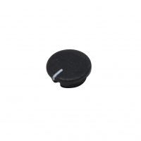 A4113100 Cap ABS black push-in