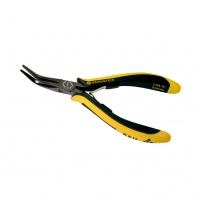 BRN-3-689-15 Pliers curved, half-rounded