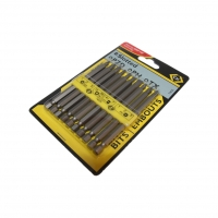 "CK-4525 Set screwdriver bits 1/4"" E63"