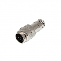 MIC348 Plug microphone male PIN8 for cable