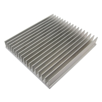 RAD-A52317/166 Heatsink extruded grilled