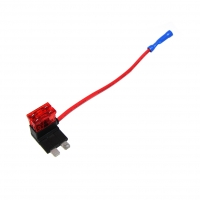 ROZ.03 Splitter 2 fuses 10A 1mm2 Colour red