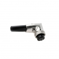 MIC368 Plug microphone female PIN8 with bend