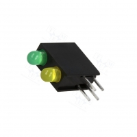4x L-7104MD/1LG1LYD Diode LED in