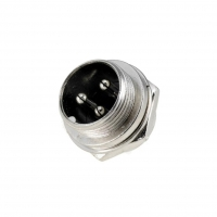 MIC333 Socket microphone male PIN3 for panel