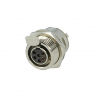 AG6FCE Socket XLR mini female PIN6