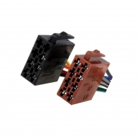 2x ZRS-ISO-1A ISO plug, wires PIN